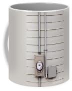 Smart Grid Power Supply Meter And Phone Line Drop Coffee Mug