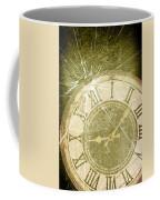 Smashed Clock Face Coffee Mug