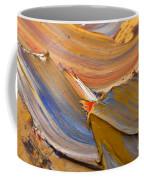 Smeared Paint Coffee Mug