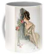 Smelling The Roses Coffee Mug