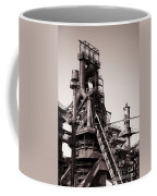 Smelting Furnace Coffee Mug by Olivier Le Queinec
