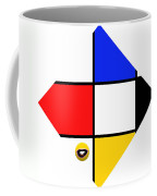 Smile De Stijl Coffee Mug