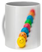 Smiley Face Gum Balls Coffee Mug by Amy Cicconi