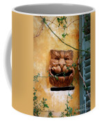 Smiling Cat Mail Box Coffee Mug