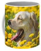 Smiling Dog Coffee Mug