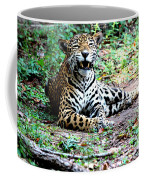 Smiling Jaguar Coffee Mug