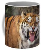 Smiling Tiger Endangered Species Wildlife Rescue Coffee Mug