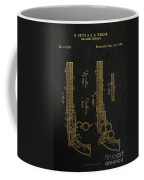 1854 Smith And Wesson Magazine Firearm Patent Art 2 Coffee Mug