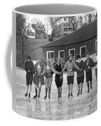 Smith Girls Skate On Paradise Pond Coffee Mug