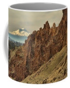 Smith Rock And Cascades Coffee Mug