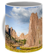Smith Rock And The Crooked River Coffee Mug