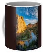 Smith Rock River Bend Coffee Mug by Inge Johnsson