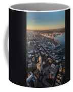 Smith Tower And West Seattle Coffee Mug