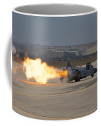 Smoke N Thunder Jet Car Coffee Mug