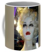 Smokey Eyed Blonde Coffee Mug