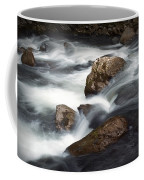 Smokey Mountain Stream In Autumn No.11 Coffee Mug