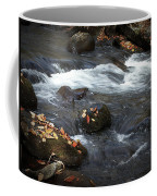 Smokey Mountain Stream In Autumn No.2 Coffee Mug