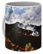 Smoky Mountain Angel Hair Coffee Mug