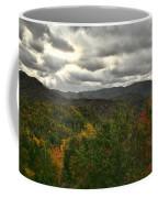 Smoky Mountain Autumn View Coffee Mug
