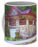 Old Log Cabin - Smoky Mountain Home Coffee Mug