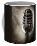 Smoky Vintage Microphone Coffee Mug