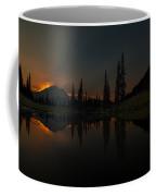 Smoldering Rainier Coffee Mug