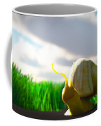 Snail And Grass... Coffee Mug