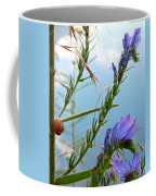 Snail On Flowers Coffee Mug