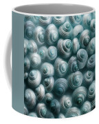 Snails Cyan Coffee Mug