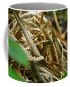 Snake Peeking Coffee Mug