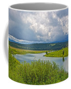 Snake River By Oxbow Bend In Grand Teton National Park-wyoming Coffee Mug
