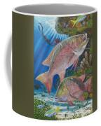 Snapper Spear Coffee Mug by Carey Chen