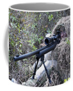 Sniper Dressed In A Ghillie Suit Coffee Mug