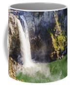 Snoqualime Falls And Pool Coffee Mug