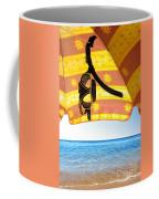 Snorkeling Glasses Coffee Mug by Carlos Caetano