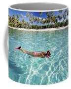 Snorkeling In Polynesia Coffee Mug
