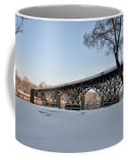 Snow Along Kelly Drive Coffee Mug