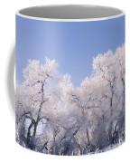 Snow And Ice Blanket Cottonwood Trees Coffee Mug