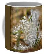 Snow And Ice Macro Coffee Mug