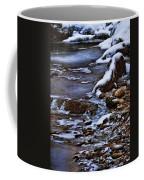 Snow And Ice Water And Rock Coffee Mug by Dale Kincaid