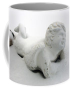 Snow Angel Figurine Coffee Mug