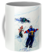 Snow Angels Coffee Mug