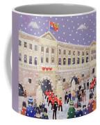 Snow At Buckingham Palace Coffee Mug by William Cooper