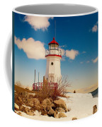 Snow At Cheboygan Crib Coffee Mug