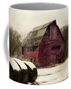 Snow Bales Coffee Mug by Julie Hamilton
