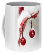 Snow Berries Coffee Mug