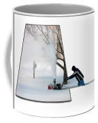 Snow Blower Coffee Mug