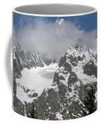 Snow Bowl In Italian Alps Coffee Mug