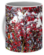 Snow Capped Berries Coffee Mug