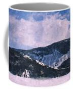 Snow Clouds - Winter - Ice Coffee Mug